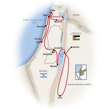 Tauck Tours: Israel and Jordan (Tauck-IJ2019)