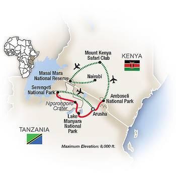 Tauck Tours: Kenya and Tanzania A Classic Safari (Tauck-KT2019)