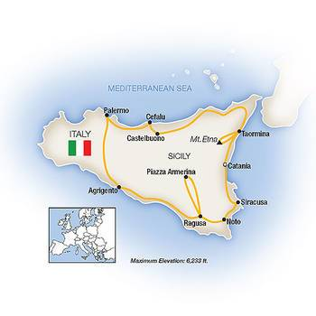 Tauck Tours: A Sicilian Odyssey (Tauck-SY2019)