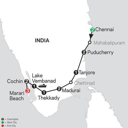 Discover Southern India and Kerala with Marari Beach (26472020)
