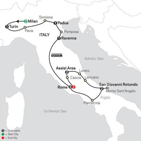 Shrines of Italy FaithBased Travel (5365 2021)