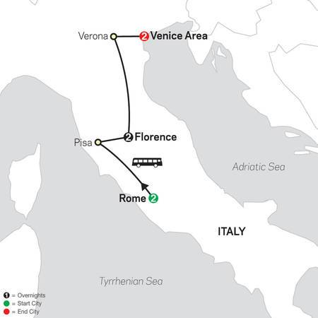 Rome, Florence and Venice (63502022)