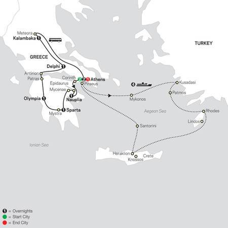 Greece and Aegean Islands Cruise (66602021))