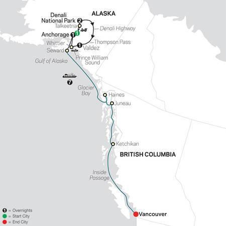 Grand Alaskan Adventure with Alaska Cruise (84252020)