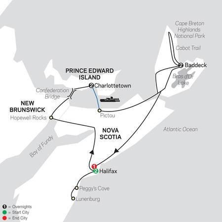Atlantic Canadas Coastal Wonders (88202020)