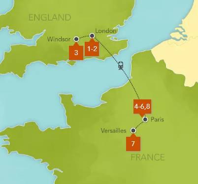 Disney England and France Tour 2020