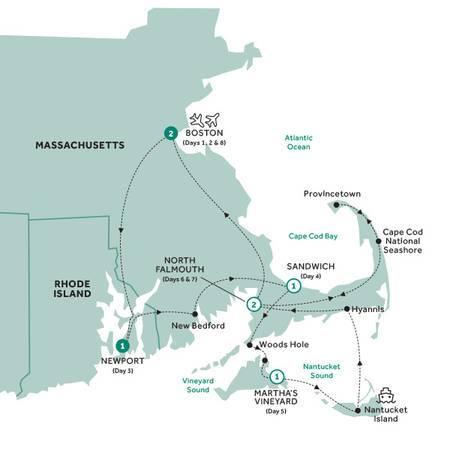 Boston, Cape Cod and The Islands Summer 2020