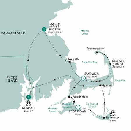 Boston, Cape Cod and The Islands Classic Group, 2021
