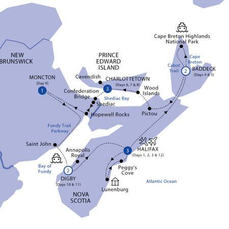 Landscapes of the Canadian Maritimes Classic Group, 2021