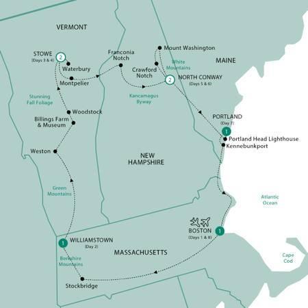 New Englands Fall Foliage 2022