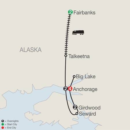 Alaskas Iditarod with Fairbanks (AIQ2019)