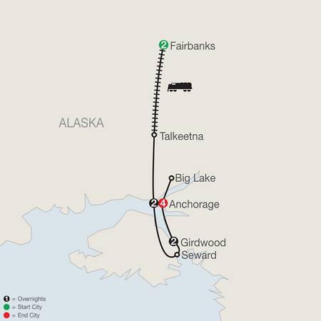 Alaskas Iditarod with Fairbanks (AIQ2020)