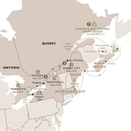 Indulgence in Eastern Canada with New England Cruise, Neptune Suite, Summer 2020