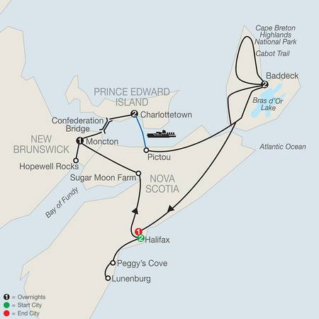 Wonders of the Maritimes and Scenic Cape Breton (CH2020)