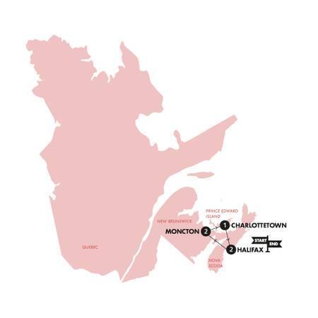 Atlantic Canada(Twin Room,Start Halifax, End Halifax)