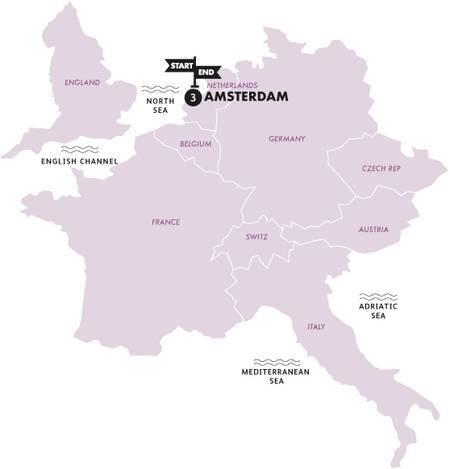 Amsterdam for Easter(Multi Share,Start London, End London)