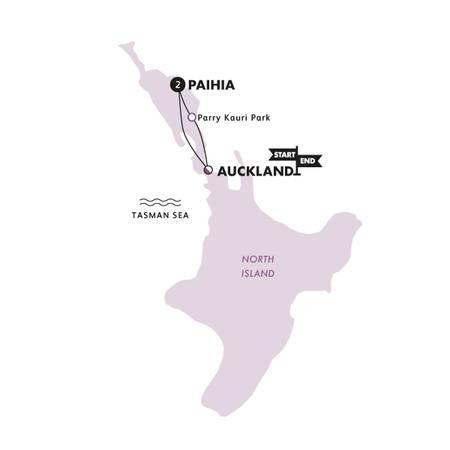Jaffas n Jandals(Multi Share,Start Auckland, End Auckland)