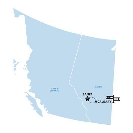 Ski Banff(Twin Room,Start Calgary, End Calgary)