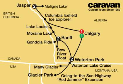 Canadian Rockies and Glacier Park 2021