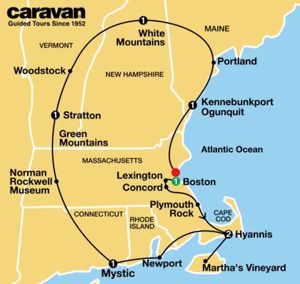 New England Summer and Fall Foliage 2021