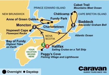 Nova Scotia and Prince Edward Island 2021