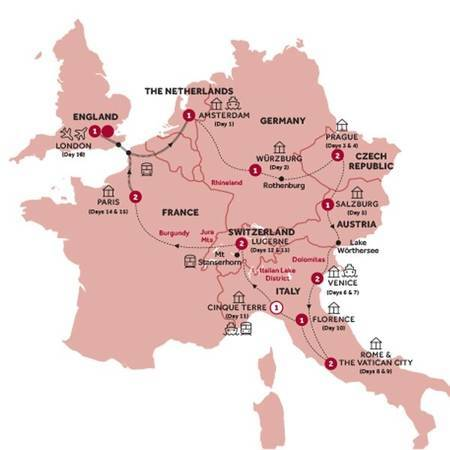 European Discovery Return Eurostar, Summer 2020