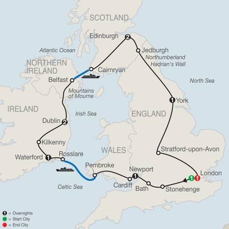 Essential Britain and Ireland (GB2020)