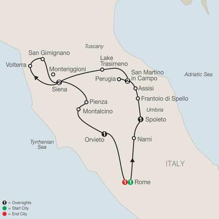 Gems of Umbria and Tuscany (LT2020)