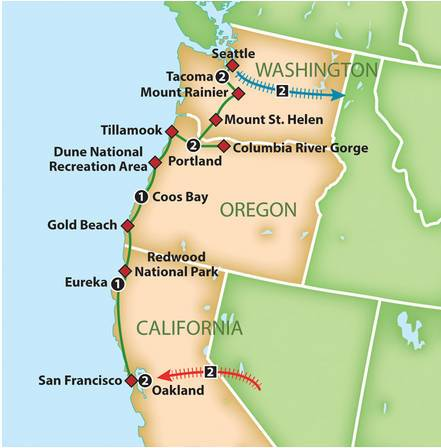 Pacific Northwest by Rail