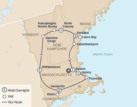 New England Rails and Sails 2021