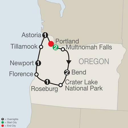 Oregons Coast, Cascades and Craft Beers (NB2020)