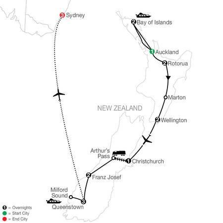 Best of New Zealand with Sydney (PNE2021)