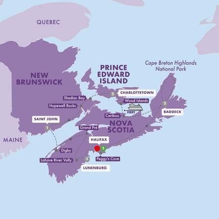 Enchanting Canadian Maritimes