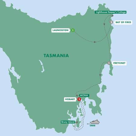 Tasmanias Footsteps and Trails