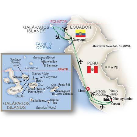 Hidden Galápagos and Peru