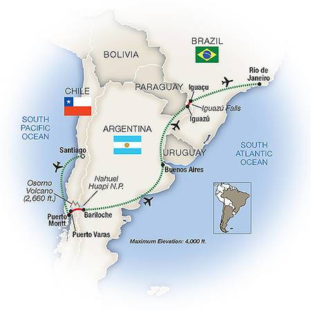 Essence of South America | 14-Day Luxury Tour From Tauck Tours