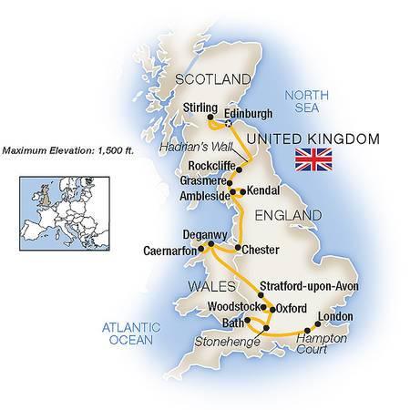 England, Scotland and Wales