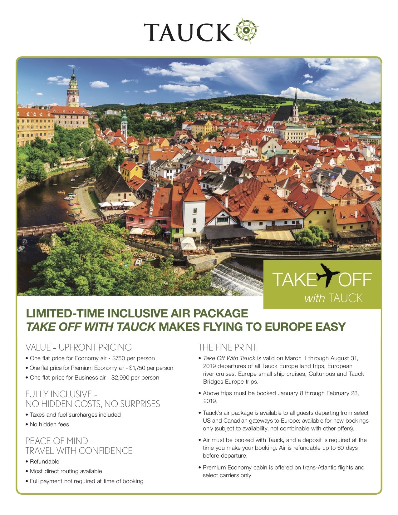 Take Off with Tauck Tours